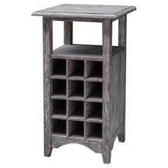 Buy Uttermost 20x20 Square Tereza Wine Storage Table on sale online