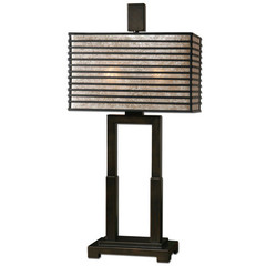 Buy Uttermost Becton 29 Inch Modern Table Lamp in Metal on sale online