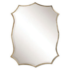Buy Uttermost 30x23 Rectangular Migiana Metal Framed Mirror on sale online