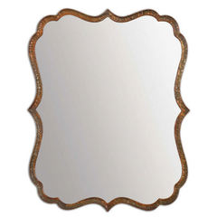 Buy Uttermost 30x24 Rectangular Spadola Mirror in Copper on sale online