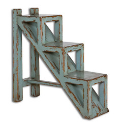 Buy Uttermost Asher Blue 32x11 Rectangular Accent Table on sale online