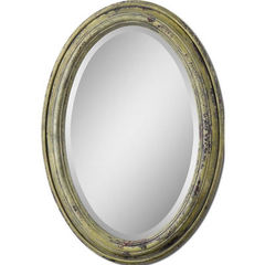 Buy Uttermost 34x24 Oval Brizona Mirror in Yellow on sale online