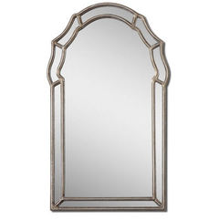 Buy Uttermost 35x21 Rectangular Petrizzi Decorative Arched Mirror on sale online