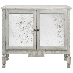 Buy Uttermost 42x19 Okorie Gray Console Cabinet on sale online