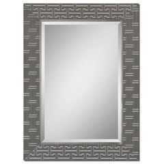 Buy Uttermost 45x33 Rectangular Cacema Mirror in Grey on sale online