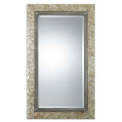 Buy Uttermost 49x29 Rectangular Pearl Mirror in Shell on sale online