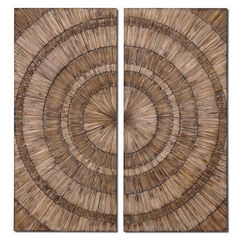 Buy Uttermost 52x24 Rectangular Lanciano Wall Art in Wood on sale online