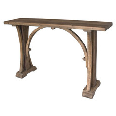 Buy Uttermost Genessis 54x14 Rectangular Console Table in Reclaimed Wood on sale online
