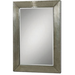 Buy Uttermost 65x45 Rectangular Rashane Mirror in Metal on sale online