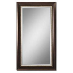 Buy Uttermost 69x39 Rectangular Blaisdell Bronze Mirror in Espresso on sale online