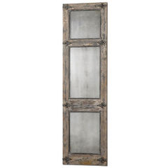 Buy Uttermost 78x22 Rectangular Saragano Distressed Leaner Mirror on sale online