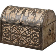 Buy Uttermost Abelardo Rustic Wooden Box on sale online