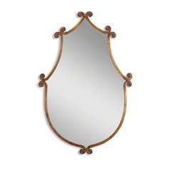 Buy Uttermost Ablenay 37x24 Wall Mirror in Antiqued Gold on sale online