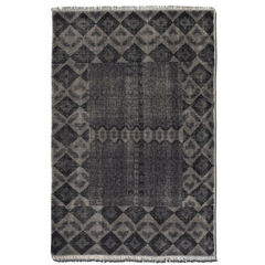 Buy Uttermost Aegean Rug in Aged Charcoal  on sale online