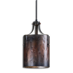 Buy Uttermost Akron 1 Light Mini Pendant in Copper on sale online