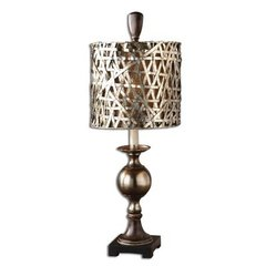 Buy Uttermost Alita Champagne 32 Inch Buffet Lamp on sale online