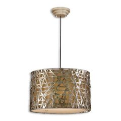 Buy Uttermost Alita Champagne 3 Light Metal Hanging Shade on sale online