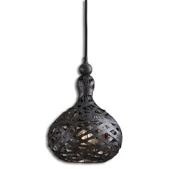 Buy Uttermost Alita Industrial 1 Light Mini Pendant on sale online
