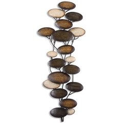 Buy Uttermost Amanita 70x29 Metal Wall Art in Brown on sale online