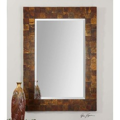 Buy Uttermost Ambrosia Copper Mosaic Mirror on sale online