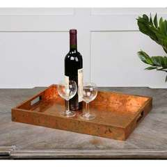Buy Uttermost Ambrosia Copper Tray on sale online