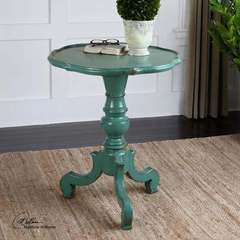 Buy Uttermost Aquila Pedestal Round 25x25 Accent Table on sale online