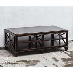 Buy Uttermost Asadel Wood 52x30 Coffee Table on sale online