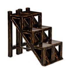 Buy Uttermost Asher Black Accent Table on sale online