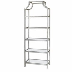 Buy Uttermost Aurelie 84 Inch Traditional Etagere in Silver on sale online