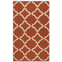 Buy Uttermost Bermuda Rug in Burnt Sienna on sale online