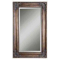 Buy Uttermost Bertha 75x45 Wall Mirror in Antiqued Bronze on sale online
