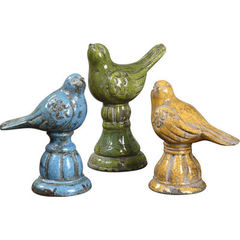 Buy Uttermost Bird Trio Ceramic Figurines (set of 3) on sale online