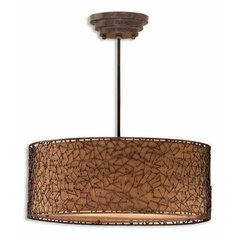 Buy Uttermost Brandon 3 Light Hanging Shade on sale online