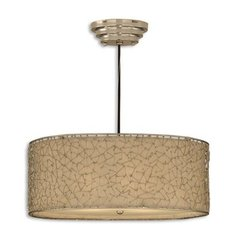 Buy Uttermost Brandon Silver 3 Light Hanging Shade on sale online