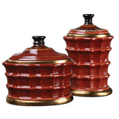 Buy Uttermost Brianna Ceramic Canisters (set of 2) on sale online