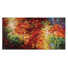 Buy Uttermost Bright Foliage 60x30 Canvas Art on sale online
