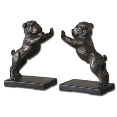 Buy Uttermost Bulldogs Cast Iron Bookends (Set of 2) on sale online