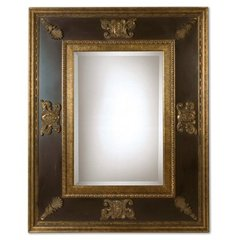 Buy Uttermost Cadence 60x48 Wall Mirror in Gold and Black on sale online
