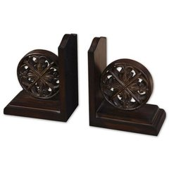 Buy Uttermost Chakra Bookends in Chestnut Brown (Set of 2) on sale online