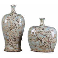 Buy Uttermost Citrita Decorative Ceramic Vases (set of 2) on sale online