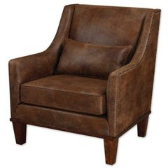 Buy Uttermost Clay Armchair in Natural on sale online