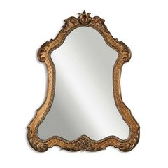 Buy Uttermost Cleopatra 43x35 Wall Mirror in Antique Gold on sale online