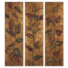 Buy Uttermost Climbing Vine 70x20 Wall Art (Set of 3) on sale online