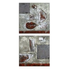 Buy Uttermost Containers 24x24 Canvas Art I, II (Set of 2) on sale online