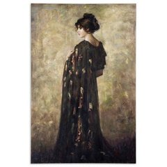 Buy Uttermost Contemplation Lady 72x48 Canvas Art on sale online