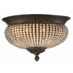 Buy Uttermost Cristal de Lisbon Flush Mount on sale online