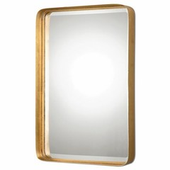 Buy Uttermost Crofton 30x20 Rectangular Antique Gold Wall Mirror on sale online