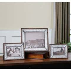 Buy Uttermost Daria Antique Mirror Photo Frames - Set of 3 on sale online