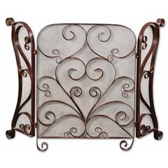 Buy Uttermost Daymeion Fireplace Screen on sale online