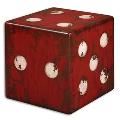 Buy Uttermost Dice Accent Table on sale online